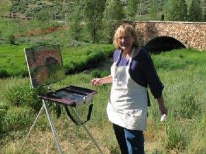 Sharon Marquez, Plein Air Colorado Artist
