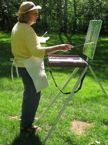 Sharon - Plein Air Artist