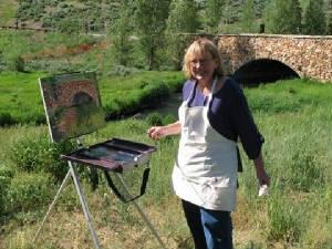 Sharon Marquez, Plein Air Colorado Artist