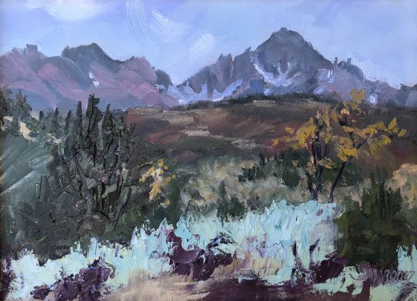 Mount Sneffels Oil Painting