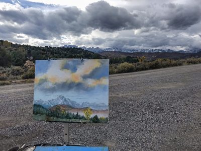 Plein Air Painting in Ridgway CO